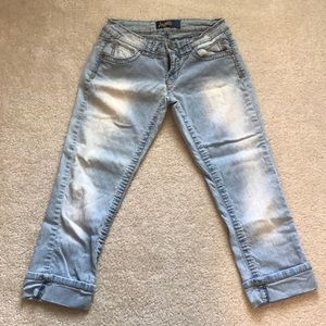 Angels light crop jeans